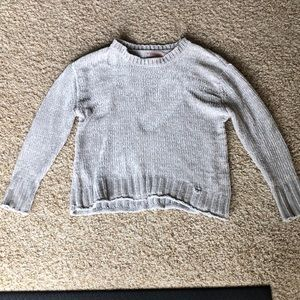 Philosophy Gray Sweater-Size S
